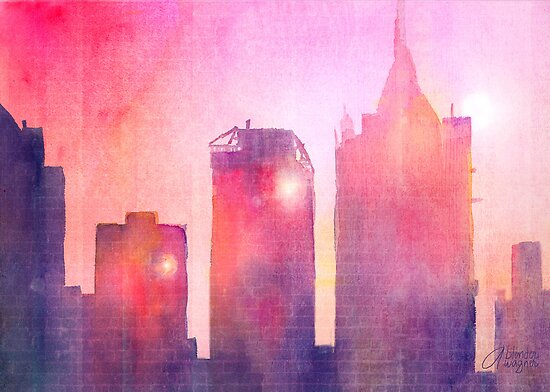 Ethereal Skyline by arline wagner