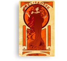 Melisandre of Asshai Canvas Print