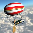 my  personal airship by VirtualArtist