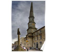 Mercat Cross and Guildhall Poster