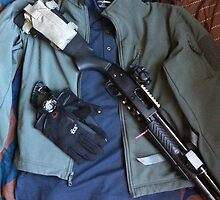 shotgun edc green jacket 2 by Albert Tran