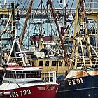 Brixham Boats by Yampimon