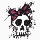 Sketched Skull Princess by Roseanne Jones