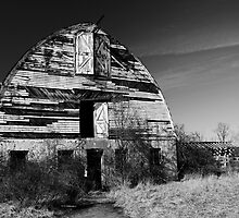 Nursery Barn that has seen better days  by Debra Fedchin