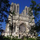 la cathédrale de reims by perreinj
