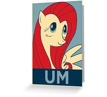 UM Greeting Card
