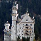 Neuschwanstein Castle by Cláudia Fernandes
