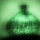 Shadow of a Green Glass Vase by MarkBigelow