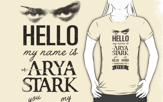 Hello, my name is Arya Stark... #2 by ikado