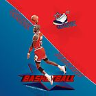 Michael Jordan Basketball iPhone case by Antonio  Luppino