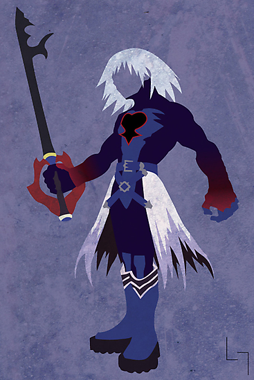 Dark Form Riku by jehuty23