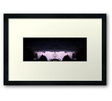 March 19 & 20 2012 Lightning Art Framed Print
