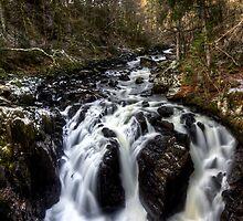 Black Linn Falls by Roddy Atkinson