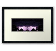 March 19 & 20 2012 Lightning Art 54 Framed Print