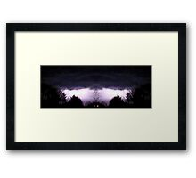 March 19 & 20 2012 Lightning Art 58 Framed Print