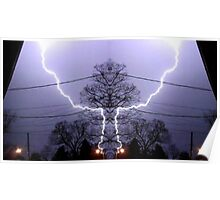March 19 & 20 2012 Lightning Art 82 Poster