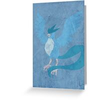 Articuno Greeting Card