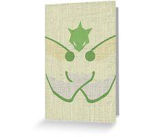 Scyther Greeting Card