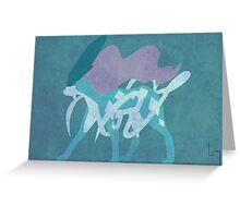 Suicune Greeting Card