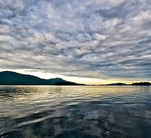 Sunrise on Lake George by Jeff Palm Photography