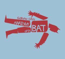 ANATOMY OF A BAT Kids Clothes
