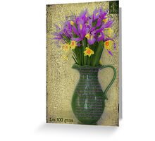 French Bouquet Greeting Card