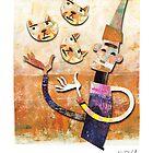 Cat Juggler by KenRinkel