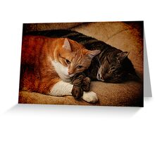 When you are weary,  feeling small Greeting Card