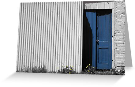 The Blue Door by AndyGii