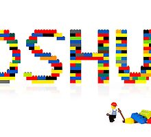 Joshua in Lego by Addison