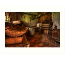 Laundry Days - Monte Christo Mansion, Junee NSW, The HDR Experience Art Print