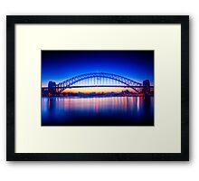 First Light-Sydney Harbour Bridge Framed Print