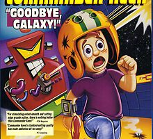 Commander Keen Poster - Goodbye Galaxy by Mooksha