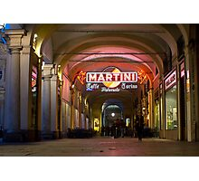 Caffe Torino Ristorante - Turin, Italy Photographic Print