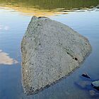Boulder at Echo Lake by Robert Meyers-Lussier