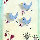 Blue Birds by Margaret Stevens