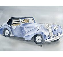Triumph Roadster 45-49 Photographic Print