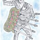 Crazy Guitar Man by Peter Allton