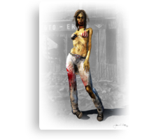 Malibu Zombie Canvas Print