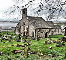 St Peters, Heysham by Lilian Marshall