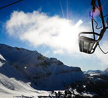 Blue Skies, Fresh Powder by yaana