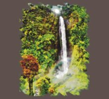 Waterfall - Digital Art Painting Kids Clothes