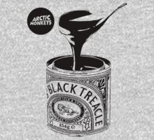 Black Treacle Single T-Shirt - Black Design by daisyneal
