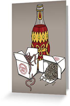 Santa Carla Takeaway by DoodleDojo
