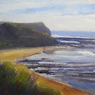South Coast headland by Tash  Luedi Art