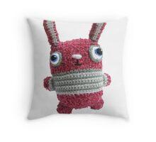 Bunny L Roux Card Throw Pillow