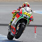 Valentino Rossi in Jerez 2012 by corsefoto