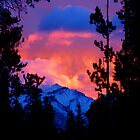 Fire Sky Mountain by JPMcKim