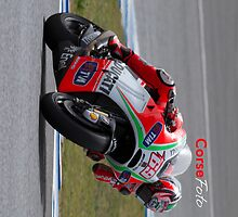 Nicky Hayden in Jerez 2012 by corsefoto