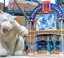 Tiger Opening Day Entrance by Mark Bolen
